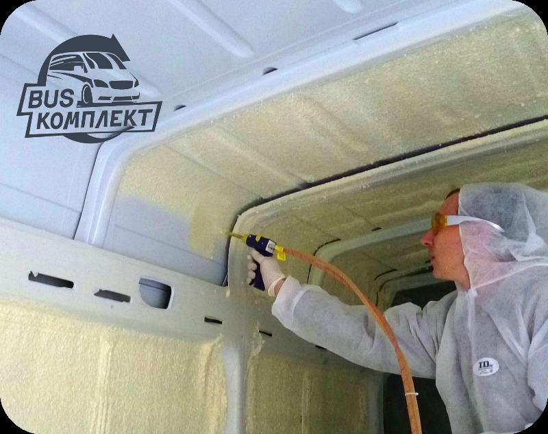 Утеплить фургон своими руками